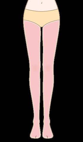 クララ美容皮膚科の足脱毛照射可能パーツ